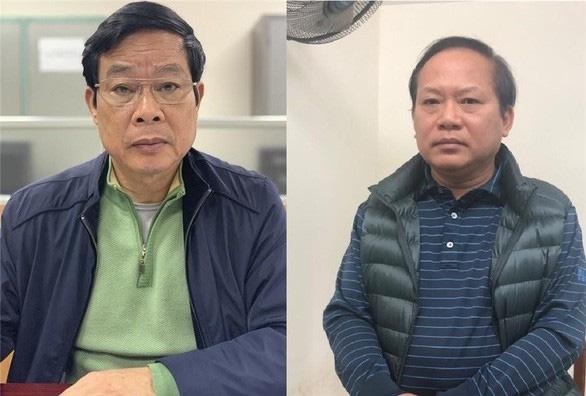Truy to 2 cuu Bo truong Nguyen Bac Son va Truong Minh Tuan