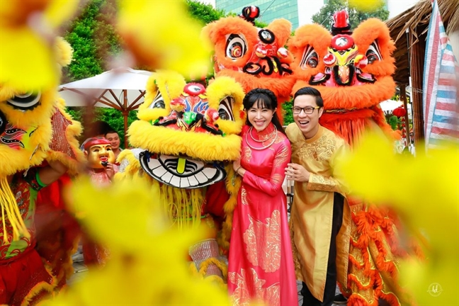 Cho Tet de thuong ngoan lang nghe truyen thong giua long Sai Gon