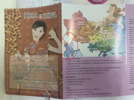 Saigontourist bị phạt kịch khung vì phát ấn phẩm du lịch có 'đường lưỡi bò' cho du khách