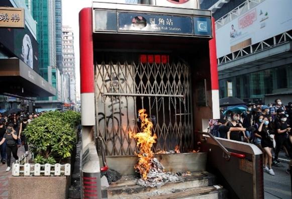 Hong Kong lai bieu tinh bat chap lenh cam tu canh sat