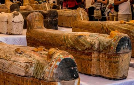 Ai Cập phát hiện 30 quan tài cổ có xác ướp