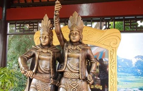 Khánh thành tượng Hai Bà Trưng trong công viên Đầm Sen
