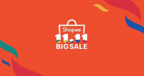 Shopee 11.11 Siêu Sale chính thức trở lại