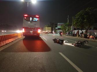 Tai nạn liên hoàn trong đêm trên Quốc lộ 13, hai người thương vong