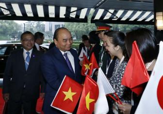 Thủ tướng Nguyễn Xuân Phúc đến Tokyo dự lễ đăng quang Nhà vua Nhật Bản