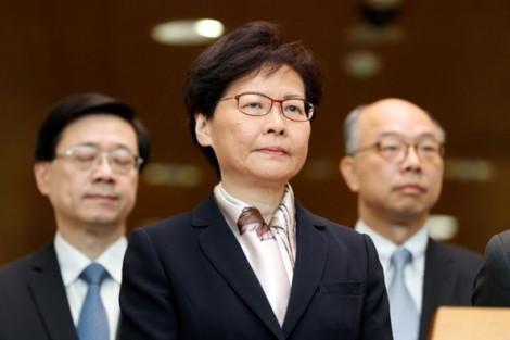 Vị trí trưởng đặc khu Hồng Kông của bà Carrie Lam đang 'lung lay'