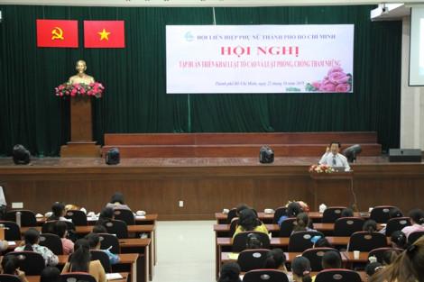Tập huấn triển khai Luật Tố cáo và Luật Phòng, chống tham nhũng cho cán bộ phụ nữ