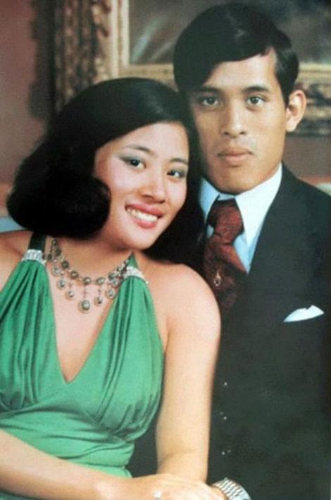 Nhan sắc 4 đời vợ của quốc vương Thái Lan