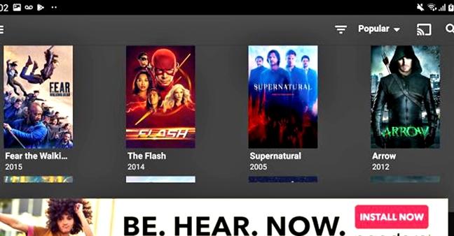 Netflix:  Thoi vang son sap qua