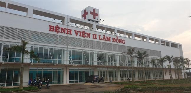 San phu tu vong khi dang sinh nua chung tai Benh vien II Lam Dong