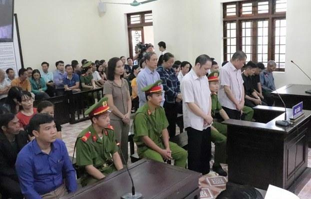 Chu muu vu gian lan diem thi tai Ha Giang linh an 8 nam tu