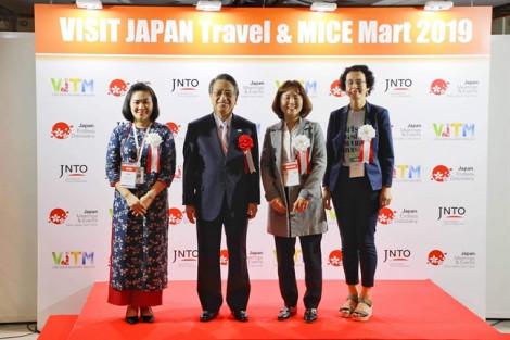 Công ty VJSC nhận giải thưởng 'Japan Best Incentive Travel Awards 2019' của Nhật Bản