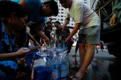 Công ty Sông Đà tuyên bố tái cung cấp nước sạch cho dân
