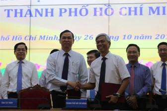 TP.HCM, Tây Ninh ký kết đầu tư xây dựng đường cao tốc TP.HCM - Mộc Bài