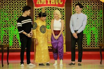 Hot girl Quỳnh Anh Shyn bị chê bai vì ăn mặc khó hiểu trên sóng truyền hình