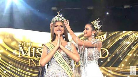Nhan sắc của tân Hoa hậu Hòa bình Quốc tế 2019