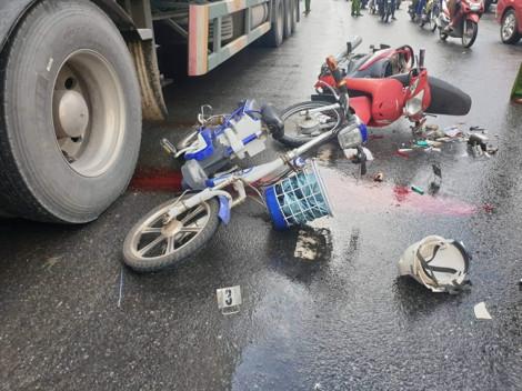 Tai nạn liên hoàn khiến một nạn nhân chấn thương sọ não