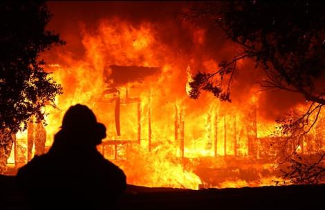 Cháy rừng ở California