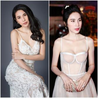 Những sao Việt khoe vòng 1 hiệu quả khi mặc áo cúp ngực