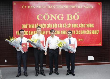 Đà Nẵng bổ nhiệm giám đốc sở công thương và xây dựng