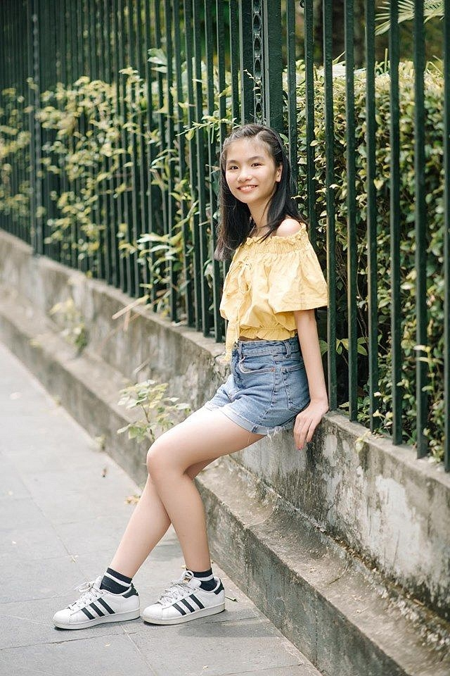 Hinh anh doi thuong dang yeu cua top 3 Giong hat Viet nhi 2019