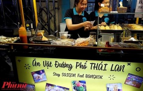 Thưởng thức các món ăn vặt đường phố Thái Lan ngay tại Sài Gòn
