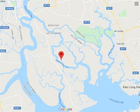 Vụ chìm tàu 8.000 tấn ở Cần Giờ: Còn 8 container chìm ở 6 vị trí trên sông Lòng Tàu