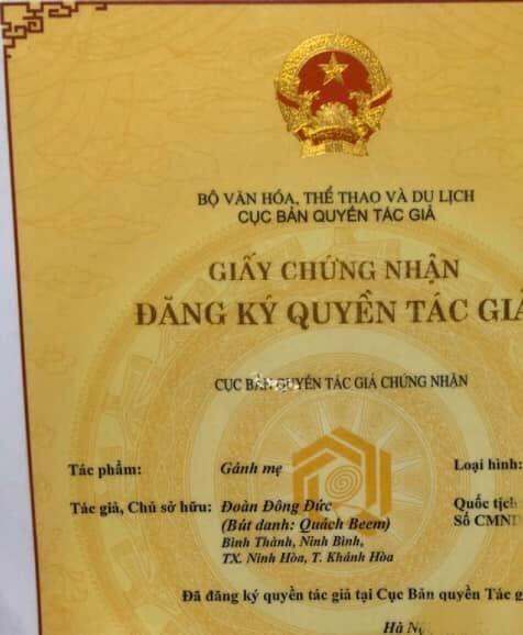 Quach Beem trung bang chung doi trong vu bi to 'dao' loi ca khuc 'Ganh me'?