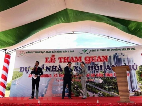 Tập đoàn Bất động sản 5 sao và Công ty Bất động sản Đất Phương Nam đến Tây Ninh bán dự án 'ma'