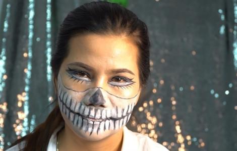 Clip: 90 giây 'biến hình' từ cô nàng công sở sang cô nàng tiệc tùng đêm Halloween