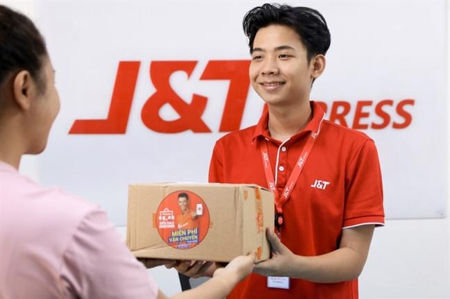 J&T Express tang 1 thang van chuyen cho nguoi ban moi tren Shopee
