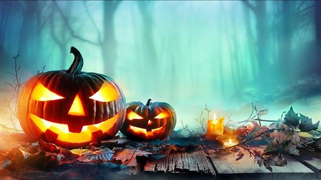 Sau dem Halloween, fanpage truong mam non tran ngap hinh anh kinh di