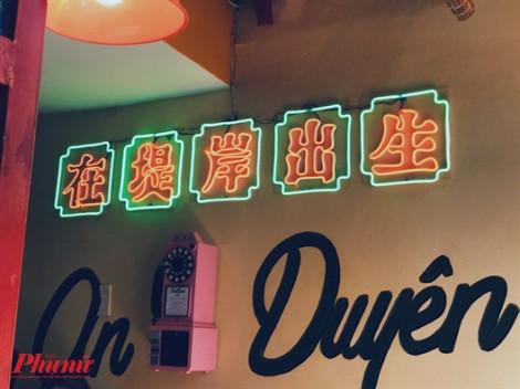 Tiệm trà bánh 'Chợ Lớn cũ' bên hông Chợ Lớn làm nhiều người thích thú