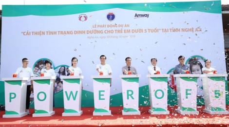 Hơn 85.000 trẻ em Nghệ An và Hà Giang được hỗ trợ dinh dưỡng miễn phí