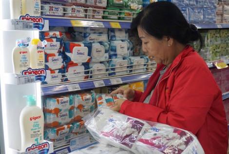'Cháy' sản phẩm trên nhiều quầy kệ của siêu thị?