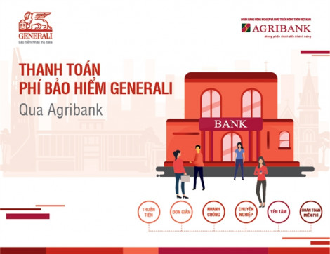 Generali Việt Nam triển khai kênh đóng phí bảo hiểm qua mạng lưới của Agribank trên toàn quốc