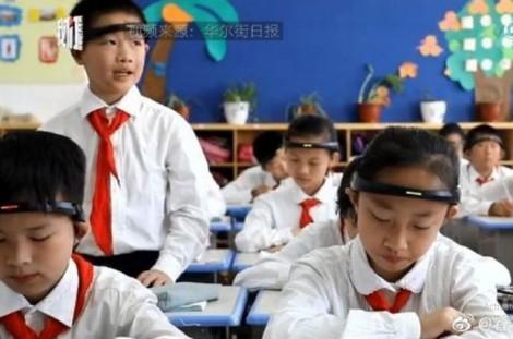 Ngừng sử dụng thiết bị đo sóng não học trò tiểu học ở Trung Quốc