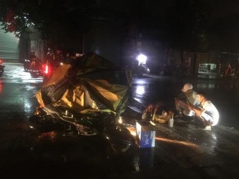 Truy tìm ô tô bỏ trốn sau va chạm với xe máy khiến 3 người thương vong