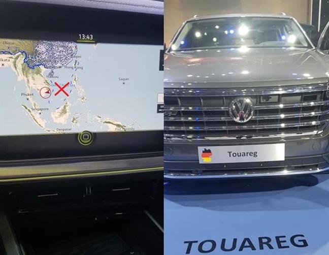 Tich thu xe Volkswagen co 'duong luoi bo', phat don vi trung bay