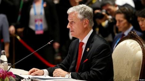 Mỹ lên án Trung Quốc áp dụng chính sách 'đe dọa' để độc chiếm Biển Đông