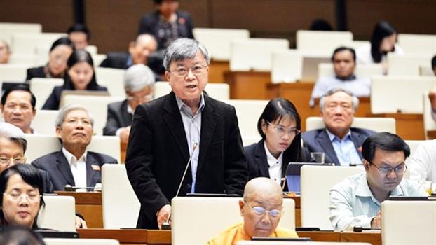 Dai bieu Quoc hoi Truong Trong  Nghia: 'Huy hoai thien nhien de tang truong la dang di chech huong'