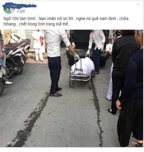 Nguoi phu nu mang thai tu vong tai nha tro