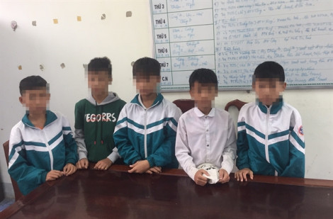 Nhóm nam sinh lớp 7 vào khu di tích, gây thiệt hại 30 triệu đồng