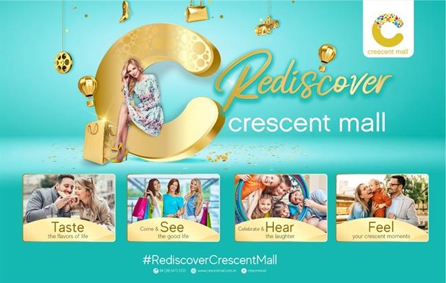 Crescent Mall mo rong diem den cho khach hang