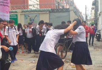 UBND TP.HCM yêu cầu xử nghiêm học sinh đánh nhau