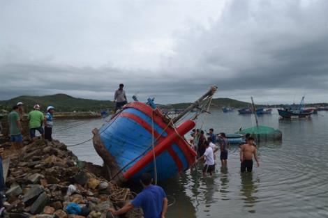 Bão số 6: Đảo Lý Sơn phải trữ lương thực ít nhất 15 ngày