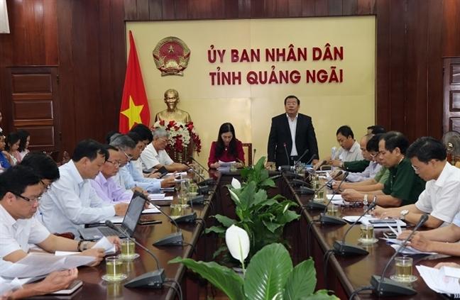 Quang Ngai, Binh Dinh, Phu Yen chay dua chong bao du