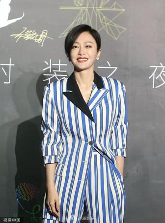 Tần Lam cá tính, Cổ Lực Na Trát lộ tóc hói trong show thời trang