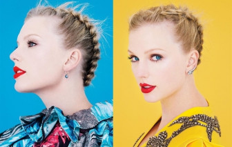 Taylor Swift đẹp mê mẩn nhờ nghiền son đỏ