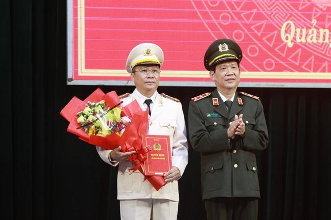 Dai ta que Quang Ngai lam Giam doc Cong an tinh Quang Nam